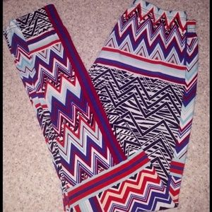 Pants - Polyester Colorful Leggings